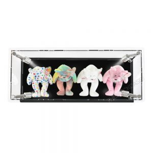 Beanie Babies Display Case - Top View BC0301-CLB