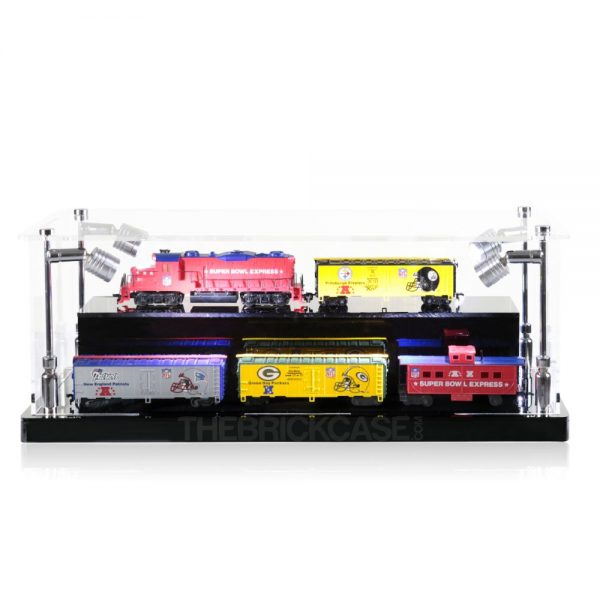 Train Display Case - Front View BC0301-CLB