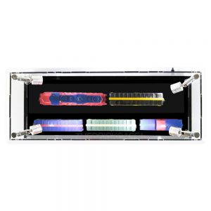 Train Display Case - Top View BC0301-CLB