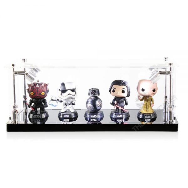 Funko Pop! Vinyl Figures Display Case - Front View BC0301-CLB