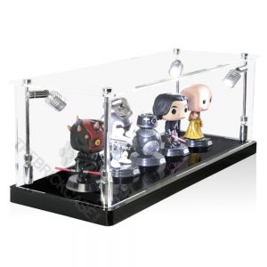 Funko Pop! Vinyl Figures Display Case - Side View BC0301-CLB
