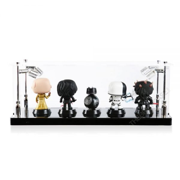 Funko Pop! Vinyl Figures Display Case - Back View BC0301-CLB