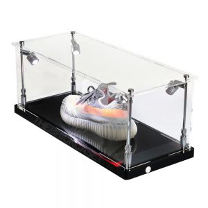 Sneaker Display Case - Back View BC0301-CLB