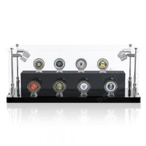 Challenge Coins Display Case - Front View BC0301-CLB