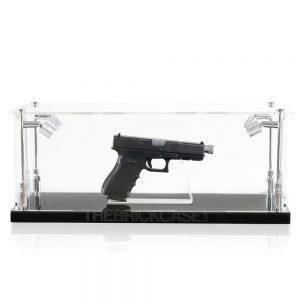 Handgun Display Case - Front View BC0301-CLB
