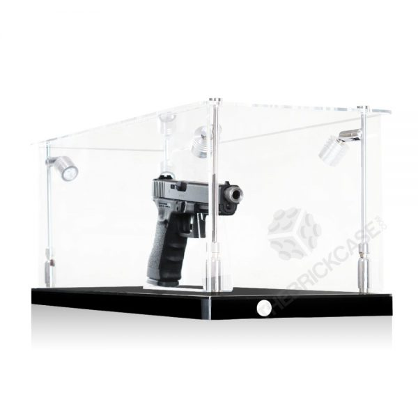 Handgun Display Case - Side View BC0301-CLB