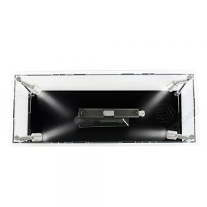 Handgun Display Case - Top View BC0301-CLB