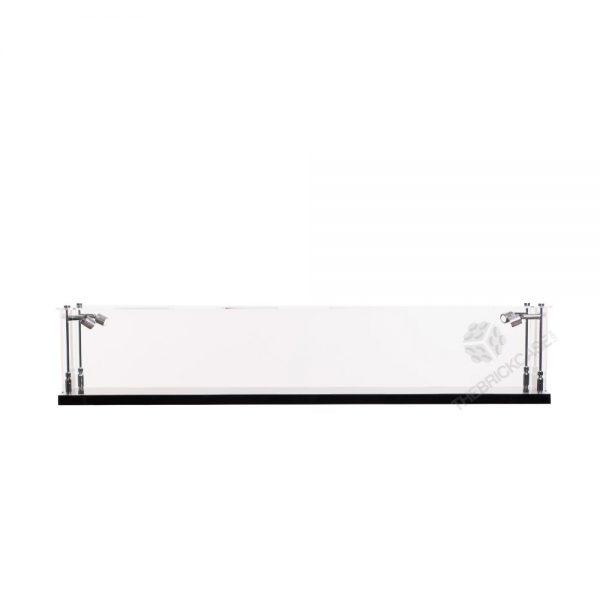 Katana Samurai Sword Display Case - Front View BC0501-CLB
