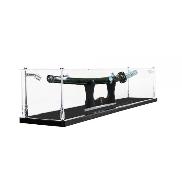 Katana Samurai Sword Display Case - Side View BC0501-CLB