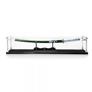 Katana Samurai Sword Display Case - Front View BC0501-CLB