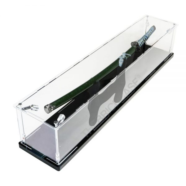 Katana Samurai Sword Display Case - Top View BC0501-CLB