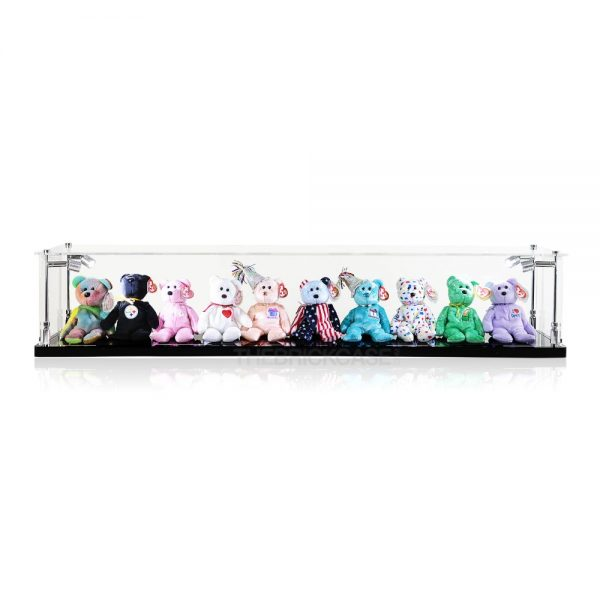 Beanie Babies Display Case - Front View BC0501-CLB