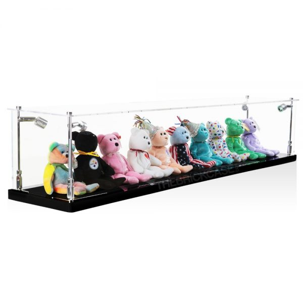 Beanie Babies Display Case - Side View BC0501-CLB