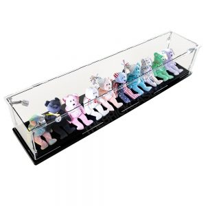 Beanie Babies Display Case - Top Side View BC0501-CLB