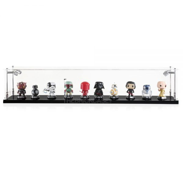 Funko Pop! Vinyl Figures Display Case - Front View BC0501-CLB