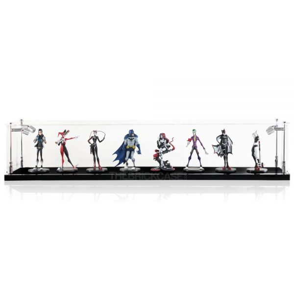 Vinyl Collectible by DC Collectibles Multiple Display Case - Front View BC0501-CLB
