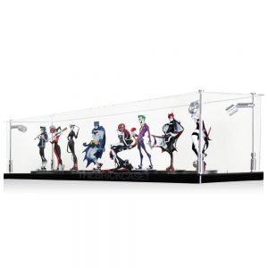 Vinyl Collectible by DC Collectibles Multiple Display Case - Side View BC0501-CLB