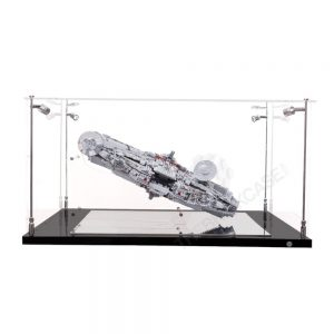 LEGO® Star Wars™ Millennium Falcon™ Display Case - Side View BC0601-BCLG