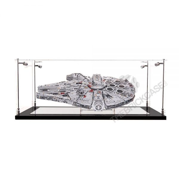 LEGO® Star Wars™ Millennium Falcon™ Display Case - Front View BC0601-BCLG