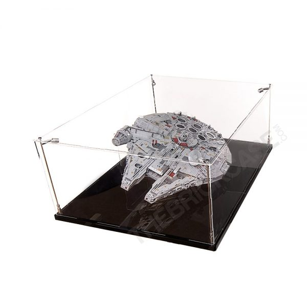 LEGO® Star Wars™ Millennium Falcon™ Display Case - Top Side View BC0601-BCLG