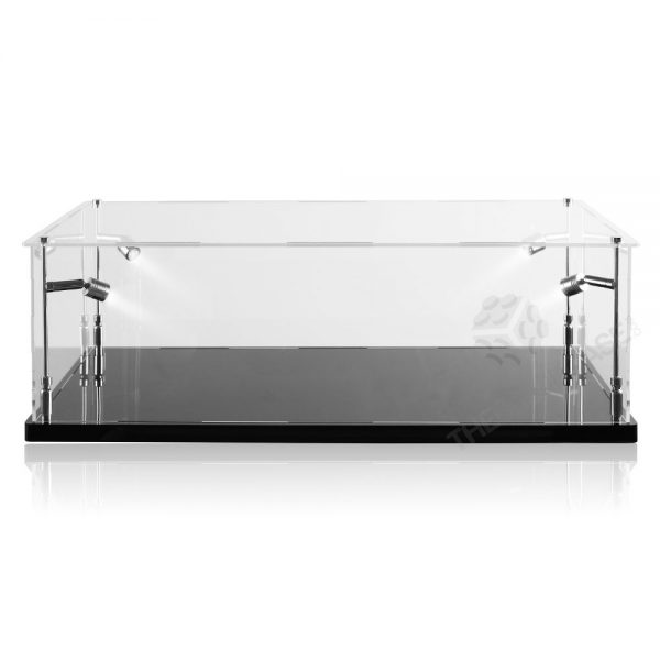 LEGO® Technic™ Bugatti Chiron Display Case - Front View BC0801-BCLG