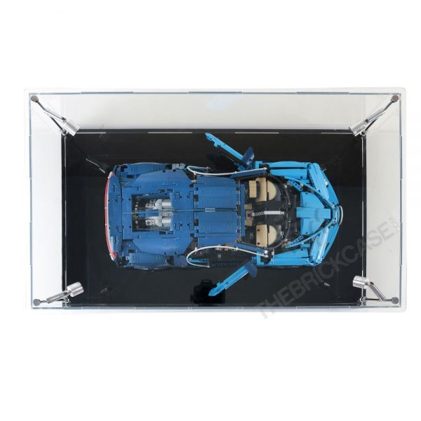 LEGO® Technic™ Bugatti Chiron Display Case - Top View BC0801-BCLG