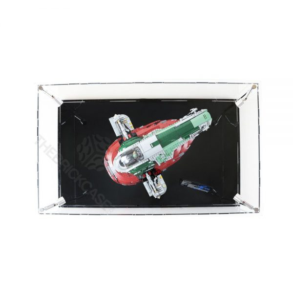 LEGO® Star Wars™ Slave l™ Display Case - Top View BC0801-BCLG