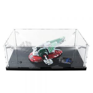 LEGO® Star Wars™ Slave l™ Display Case - Top Front View BC0801-BCLG