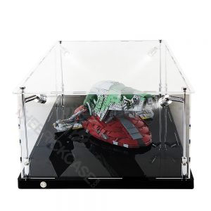 LEGO® Star Wars™ Slave l™ Display Case - Side View BC0801-BCLG
