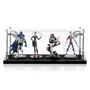 Vinyl Collectible by DC Collectibles Display Case - Front View BC0501-CLB
