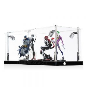 Vinyl Collectible by DC Collectibles Display Case - Side View BC0501-CLB
