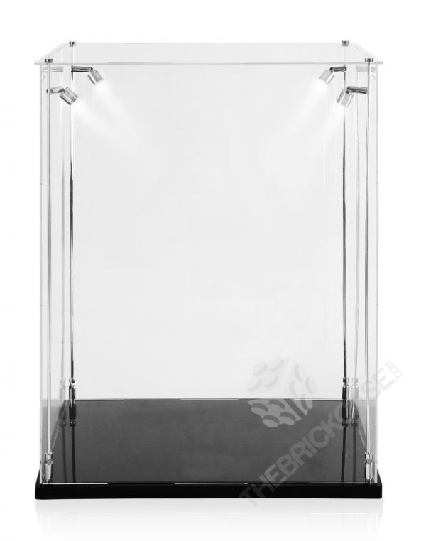 LEGO® Creator Expert Ferris Wheel Display Case - Front View BC241731-BCLG