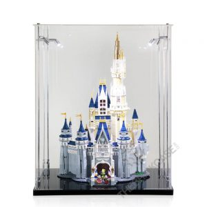 LEGO® Disney The Disney Castle Display Case - Front View BC241731-BCLG