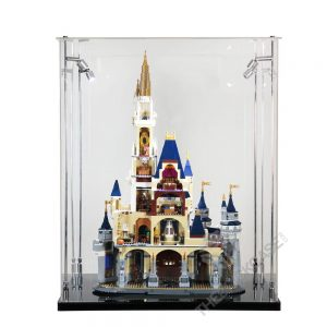 LEGO® Disney The Disney Castle Display Case -Front View BC241731-BCLG