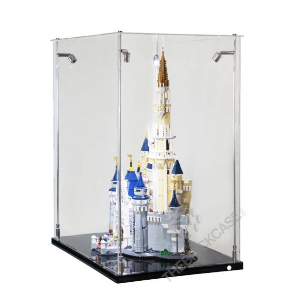 LEGO® Disney The Disney Castle Display Case - Side View BC241731-BCLG