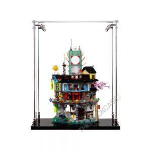 LEGO® NINJAGO® City Display Case - Front View BC241731-BCLG