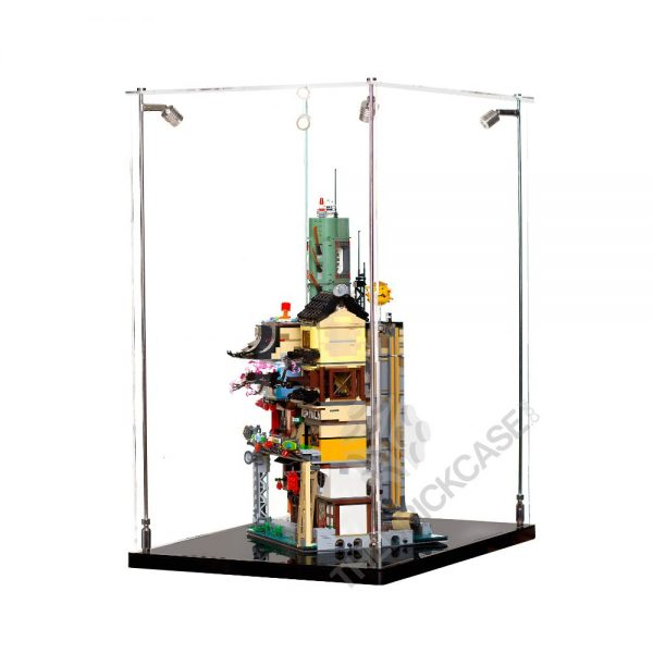 LEGO® NINJAGO® City Display Case - Side View BC241731-BCLG