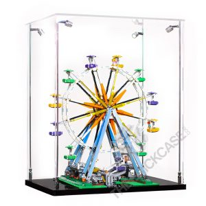 LEGO® Creator Expert Ferris Wheel Display Case - Side View BC241731-BCLG