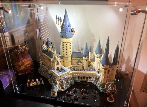 LEGO Castle Display Case